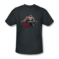 Batman - Mens Bane Flex T-Shirt In Charcoal