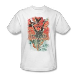 Batman - Mens Batwoman #1 T-Shirt In White