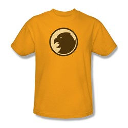 Dc Comics - Mens Hawkman Symbol T-Shirt In Gold