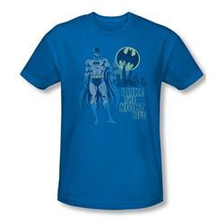 Dc Comics - Mens Night Life T-Shirt In Royal