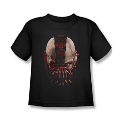 Batman: Dark Knight Rises - Little Boys Bane Mask T-Shirt In Black