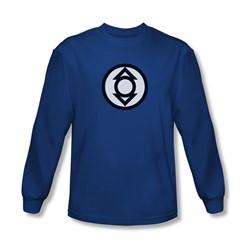 Green Lantern - Mens Indigo Tribe Long Sleeve Shirt In Royal