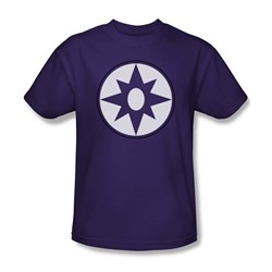 Green Lantern - Mens Star Sapphire Logo T-Shirt In Purple