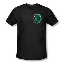 Green Lantern - Mens Kyle Logo T-Shirt In Black