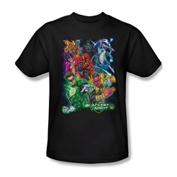 Green Lantern - Mens Blackest Group T-Shirt In Black