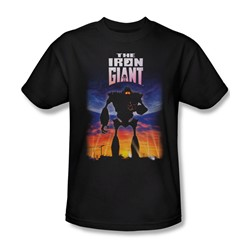 Iron Giant - Mens Poster T-Shirt In Black
