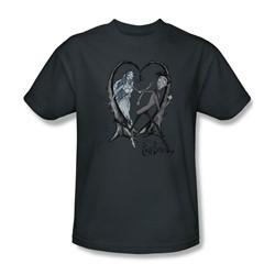 Corpse Bride - Mens Runaway Groom T-Shirt In Charcoal