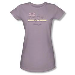 Gilmore Girls - Womens Dragonfly Inn 2 T-Shirt In Lavendar