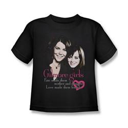 Gilmore Girls - Little Boys Title T-Shirt In Black