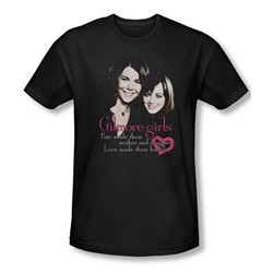 Gilmore Girls - Mens Title T-Shirt In Black
