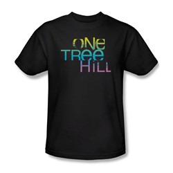 One Tree Hill - Mens Color Blend Logo T-Shirt In Black
