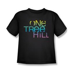 One Tree Hill - Little Boys Color Blend Logo T-Shirt In Black