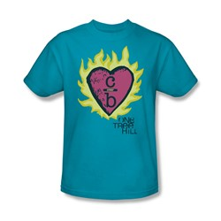 One Tree Hill - Mens C Over B 2 T-Shirt In Turquoise