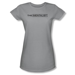 Mentalist - Womens Logo T-Shirt In Silver