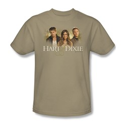 Hart Of Dixie - Mens Cast T-Shirt In Sand