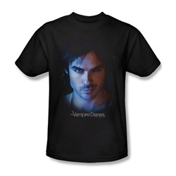 Vampire Diaries - Mens Damon T-Shirt In Black