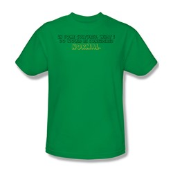 Normal - Adult Kelly Green S/S T-Shirt For Men