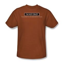 Bad Mood - Adult Texas Orange S/S T-Shirt For Men