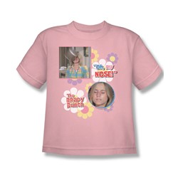 Brady Bunch - Oh  My Nose! - Big Boys Pink S/S T-Shirt For Boys