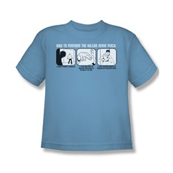St:Original - Vulcan Nerve Pinch - Big Boys Car.Blue S/S T-Shirt For Boys