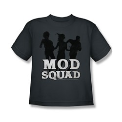 Mod Squad - Mod Squad Run Simple - Big Boys Charcoal S/S T-Shirt For Boys