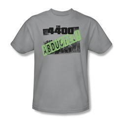 4400 - Abducted - Adult Silver S/S T-Shirt For Men