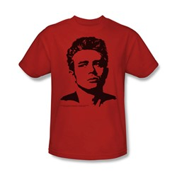 Dean - Dean - Adult Red S/S T-Shirt For Men