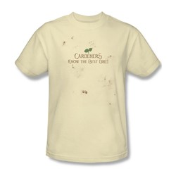 Garden - Know The Best Dirt Adult Cream S/S T-Shirt For Men