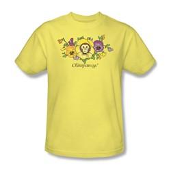 Garden - Chimpansy Adult Banana S/S T-Shirt For Men