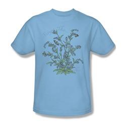 Garden - Forget Me Not Adult Light Blue S/S T-Shirt For Men