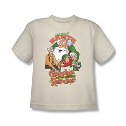 Grandma - I Believe - Big Boys Cream S/S T-Shirt For Boys