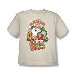 Grandma - I Believe - Big Boys Cream S/S T-Shirt For Boys