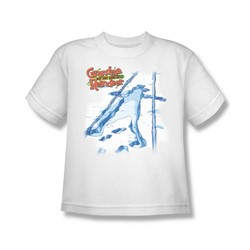 Grandma - Grandma Was Here - Big Boys White S/S T-Shirt For Boys