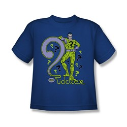 The Riddler The Riddler Big Boys S/S T-shirt in Royal by DC Comics