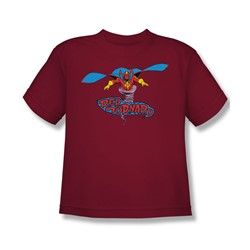 Red Tornado Red Tornado Big Boys S/S T-shirt in Cardinal by DC Comics
