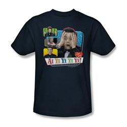 I Love Lucy - Ai Yi Yi Yi Yi Adult T-Shirt In Navy
