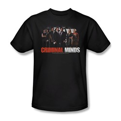Criminal Minds - The Brain Trust - Adult Black S/S T-Shirt