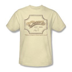 Cbs - Cheers / Cheers Sign Adult T-Shirt In Cream