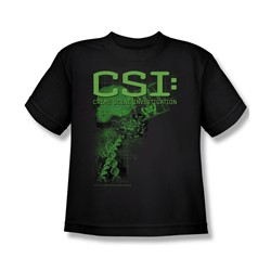 Cbs - Csi / Csi Evidence Big Boys T-Shirt In Black