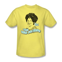 Cbs - Brady Bunch / The Real Jan Brady Adult T-Shirt In Banana