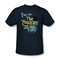 Cbs - Twilight Zone / I'M In The Twilight Zone Adult T-Shirt In Navy