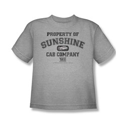 Cbs - Taxi / Property Of Sunshine Cab Big Boys T-Shirt In Heather
