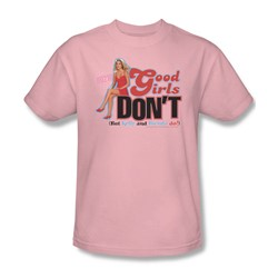 Cbs - Beverly Hills 90210 / Good Girls Don't Adult T-Shirt In Pink
