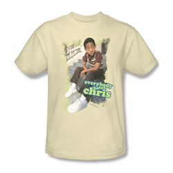 Cbs - Everybody Hates Chris Adult T-Shirt In Cream