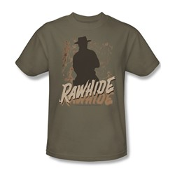 Cbs - Rawhide Adult T-Shirt In Safari Green