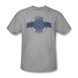Cbs - Csi / Csi Vegas Badge Adult T-Shirt In Heather