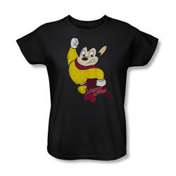 Cbs - Classic Hero Womens T-Shirt In Black