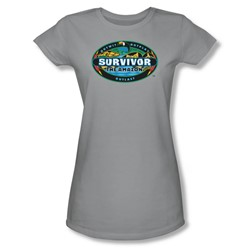 Cbs - The Amazon Juniors T-Shirt In Silver