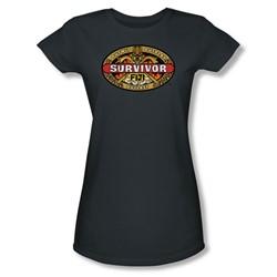 Cbs - Fiji Juniors T-Shirt In Charcoal