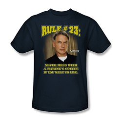 Cbs - Rule 23 Adult T-Shirt In Navy